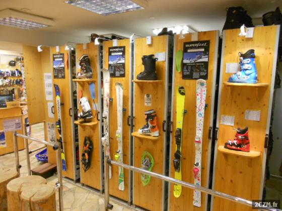 fond de commerce location skis vtt