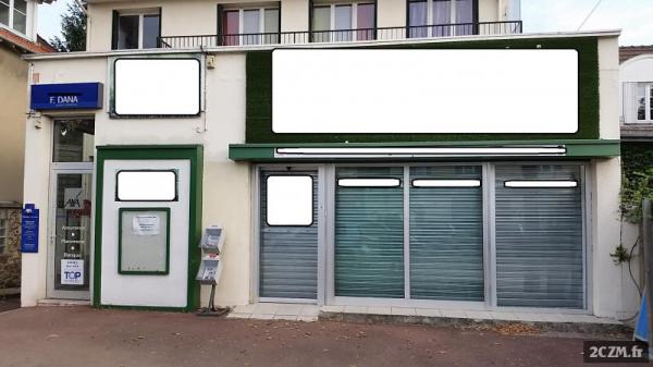 LOCAL COMMERCIAL 150 M² emplacement  N°1 - DOMONT 95330
