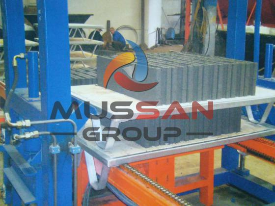 MG 10.2 machine de bloc beton fabrication de paves, parpaing